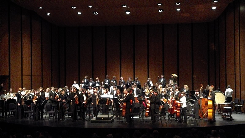 Joint concert: MBYS and Fidalgo Youth Symphony